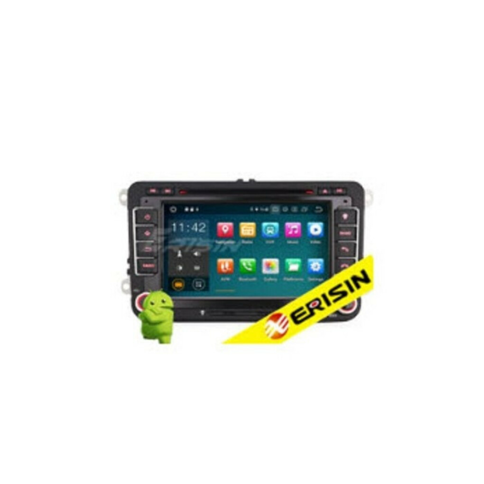 "ERISIN ES5148V 7"" ANDROID 10.0 CAR DVD FOR VW SEAT SKODA WITH GPS RADIO WIFI BT TPMS DAB+"