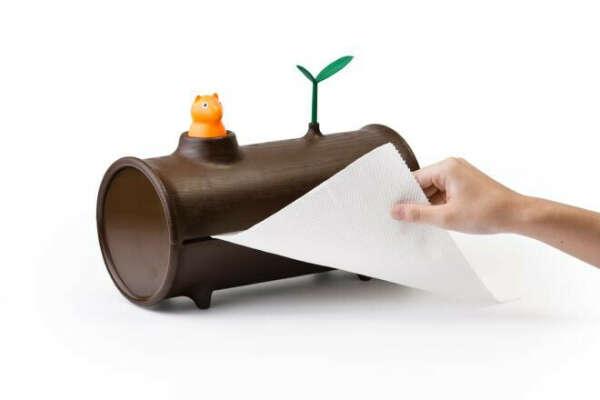 Держатель для бумажных полотенец Log&Roll