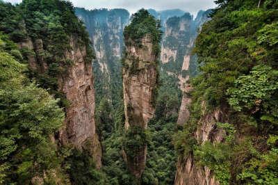 Тур национальный парк Чжанцзяцзе, Китай