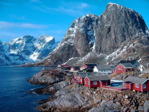Посетить Норвегию