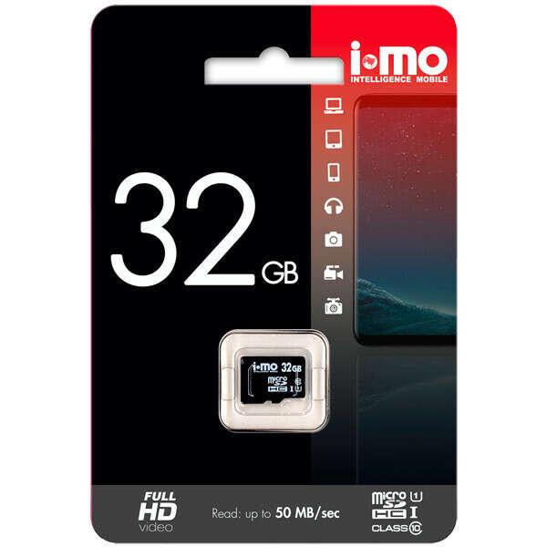 Карта памяти SDHC Micro IMO 32GB Сlass 10 UHS-I