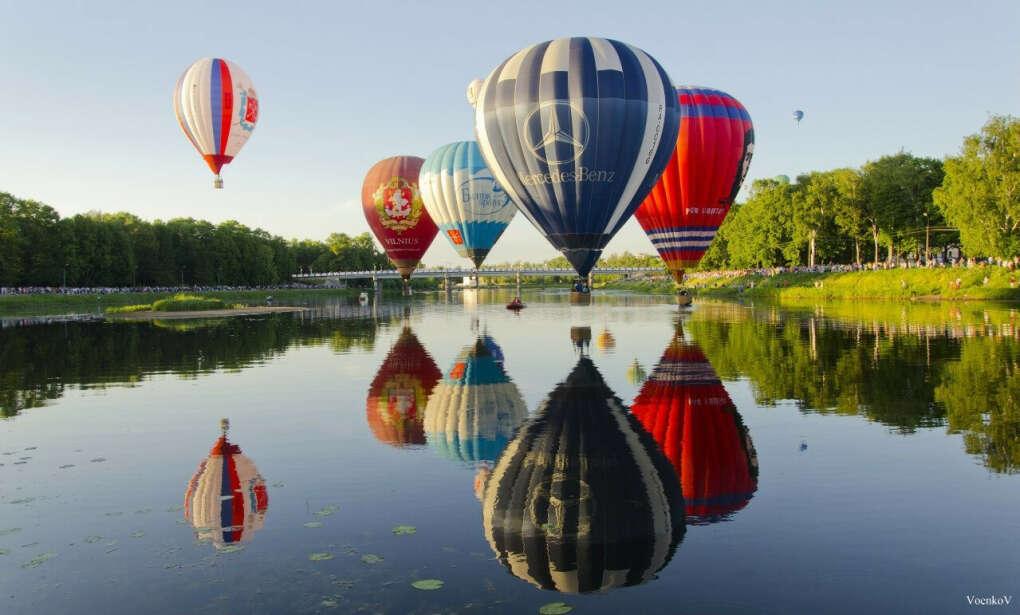 Полетать на воздушном шаре и куда-то переместиться
