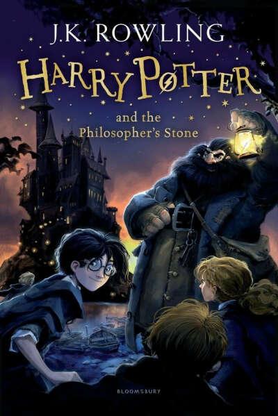 Серия книг о Гарри Поттере на английском