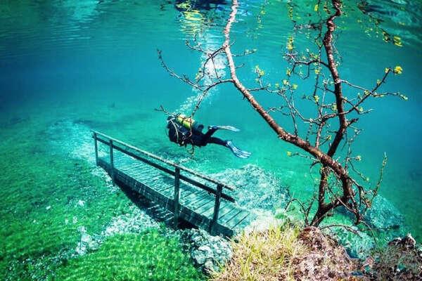 Посетить Зеленое озеро в Австрии