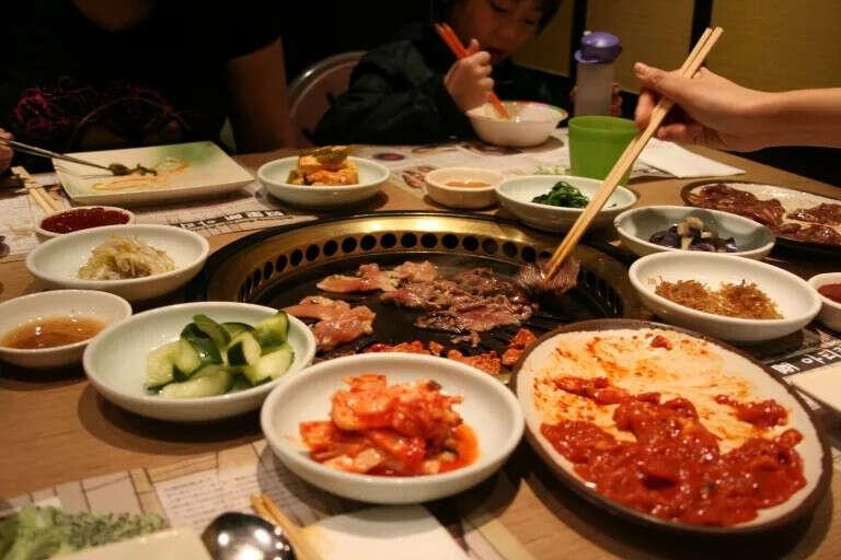 Сходить в корейский ресторан в Питере