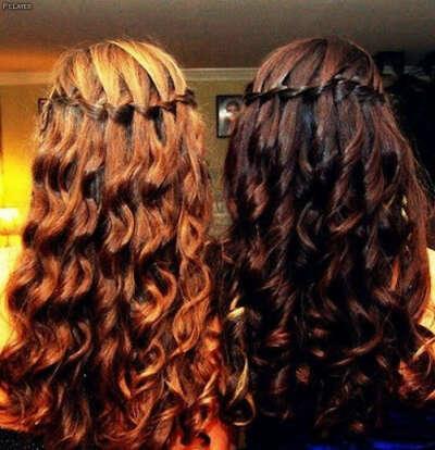 Длинные и ухоженные волосы