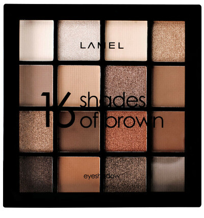 Lamel / Тени для век Shades of Brown 16-1