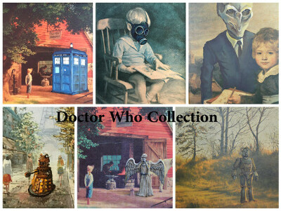Doctor Who Parody Art Collection