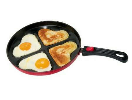Сковорода для романтического завтрака