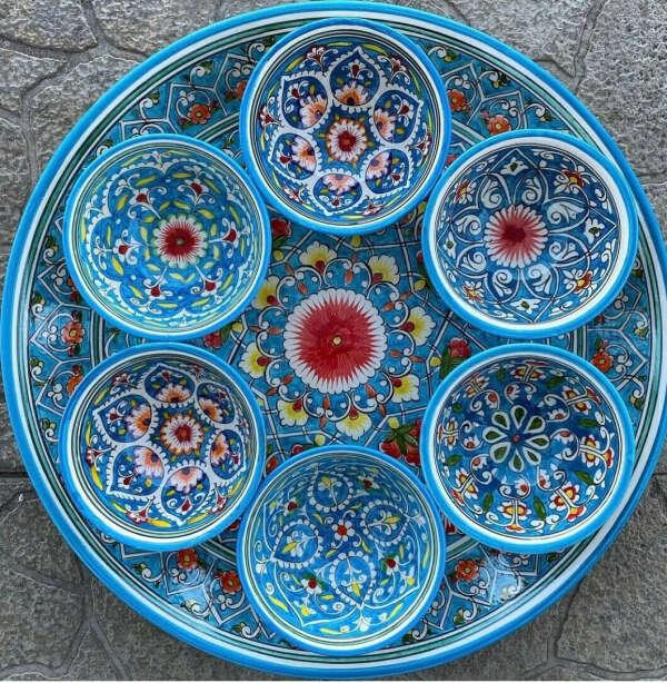 Расписные пиалы или посуда