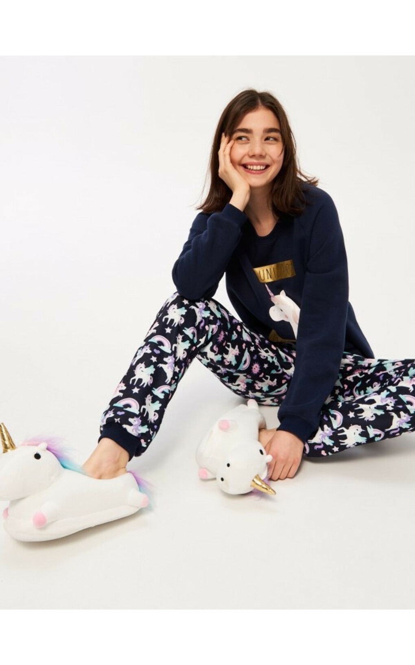 Пижама с единорогом