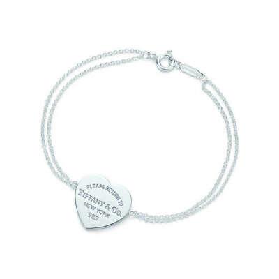 Tiffany & Co. -  Return to Tiffany™: браслет с подвеской в форме сердца