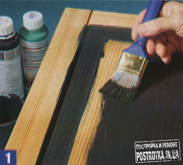 Перекрасить всю свою мебель