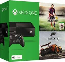 Комплект Xbox One. Day One Edition (500 GB) + игра FIFA 15 + игра Forza Motorsport 5 + Xbox Live Gold (14 дней)