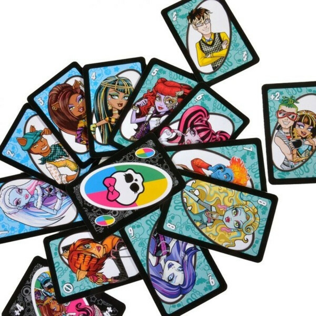 Hasbro Games UNO Monster High