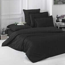 чёрное постельное бельё (белое, серое)