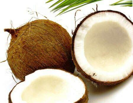 Пена для ванны с запахом кокоса
