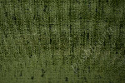 Костюмная ткань оттенка хаки с зелеными вкраплениями
