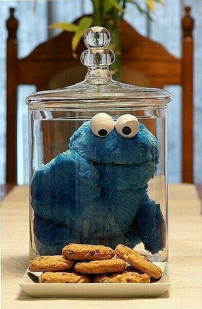 Я хочу монстра, который ест печенье