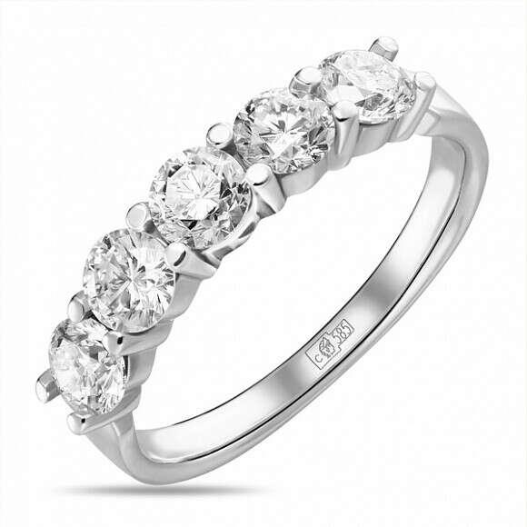 Кольцо c бриллиантами Артикул: R4150-D-LRM48115