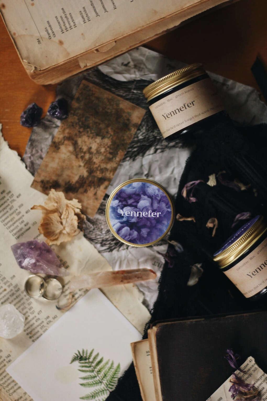Сюжетная свеча Йеннифэр