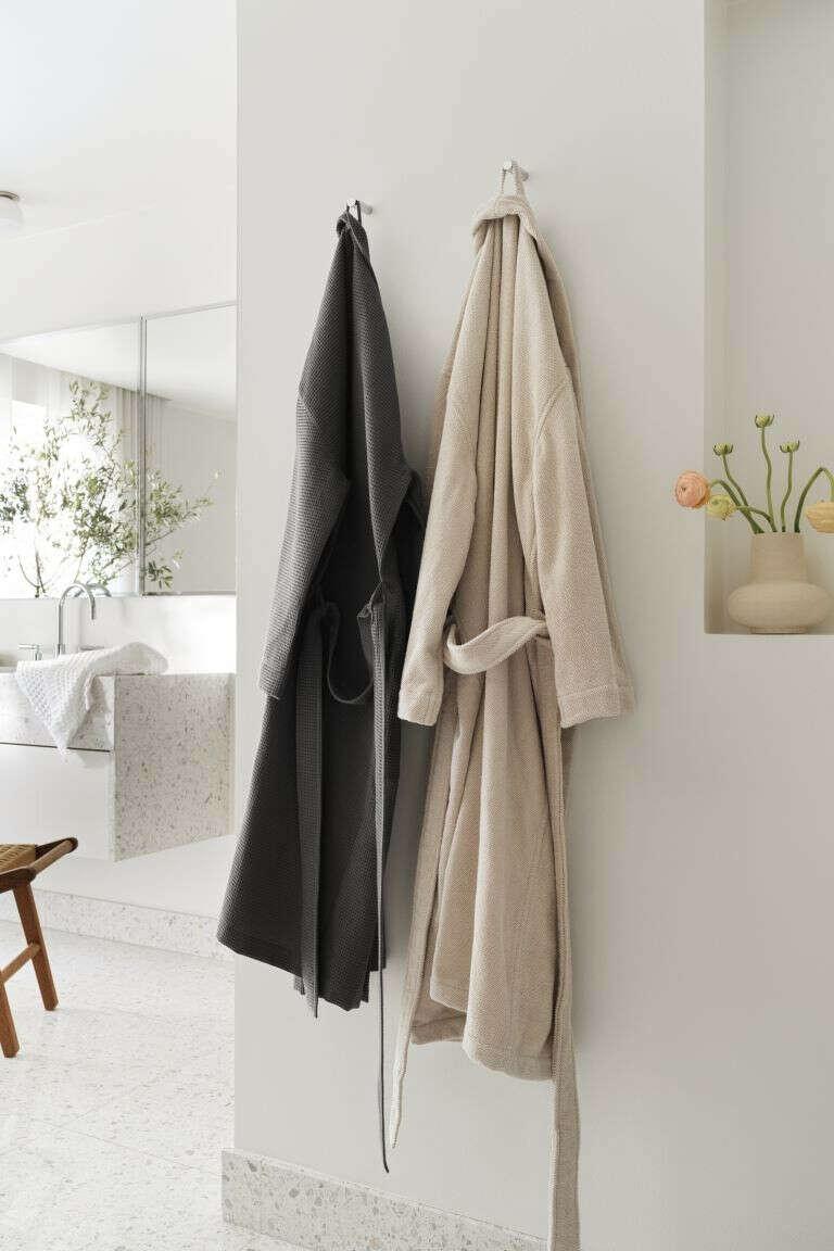 Вафельный халат H&M Home
