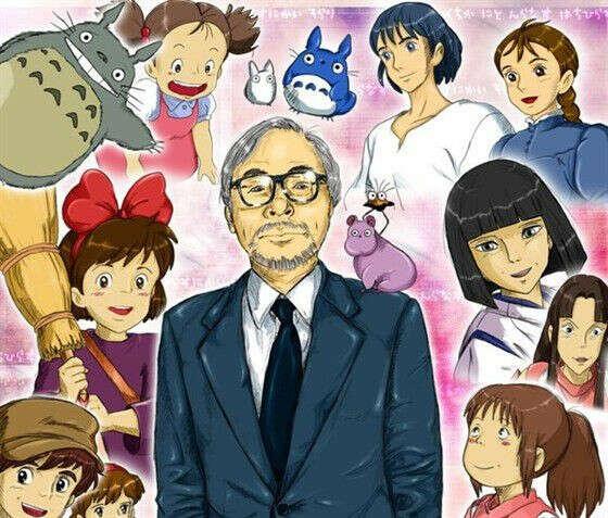 Посмотреть все мультфильмы Хаяо Миядзаки