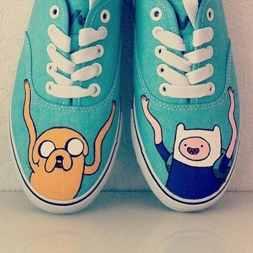 кеды Adventure Time