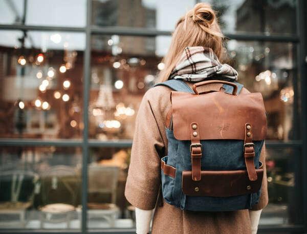 Купить рюкзак для женщины Хог песочный в Москве   Интернет-магазин рюкзаков Wildbags.ru