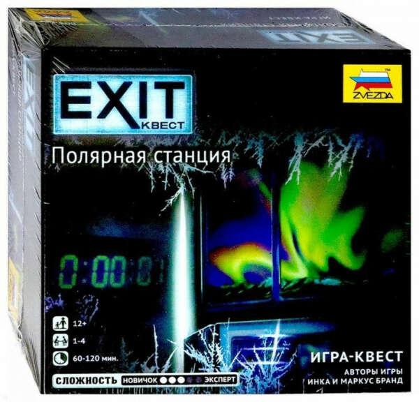 "Настольная игра ""EXIT Квест. Полярная станция"""