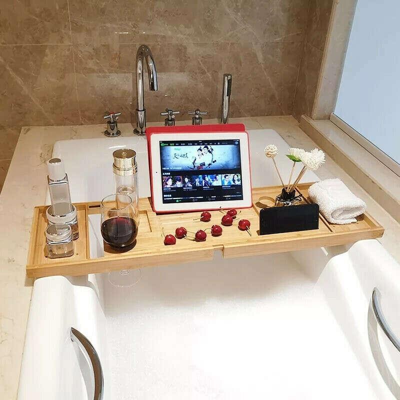 Полка для посиделок в ванной