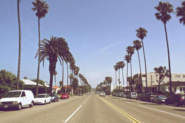 Хочу уехать в Калифонию