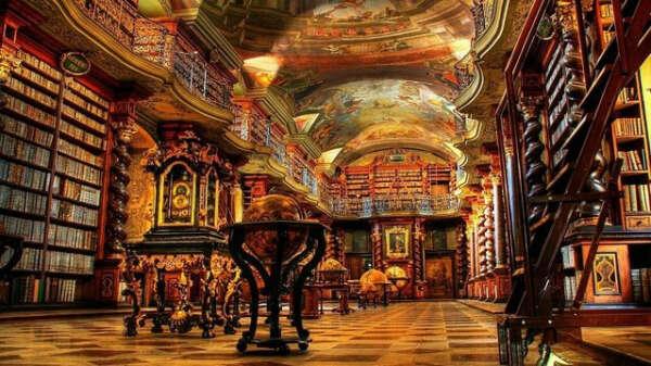 Клементиум (Klementium)-библиотека, Чехия