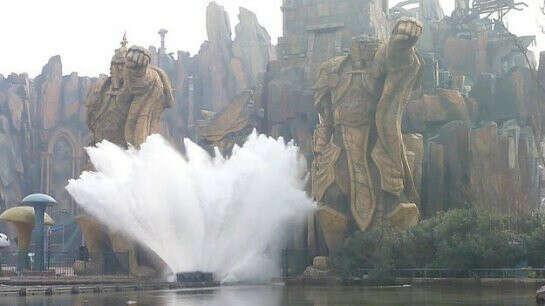 Побывать в парке World of Warcraft в Китае рядом с городом Чангжоу