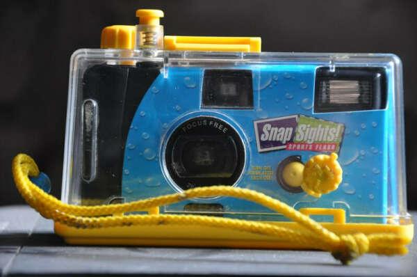 Подводный фотоаппарат.