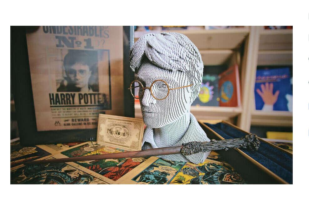 Подарочный 3D пазл 5CULT Гарри Поттер