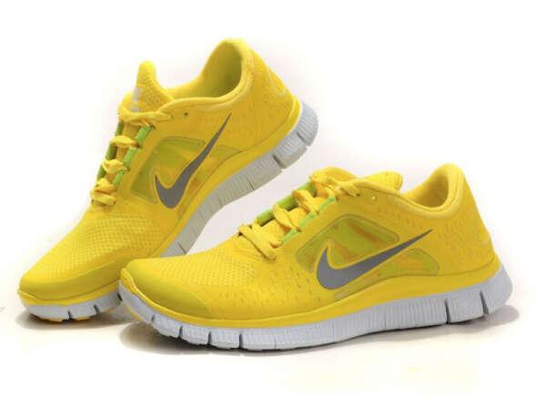 Nike Free Run 3 yellow