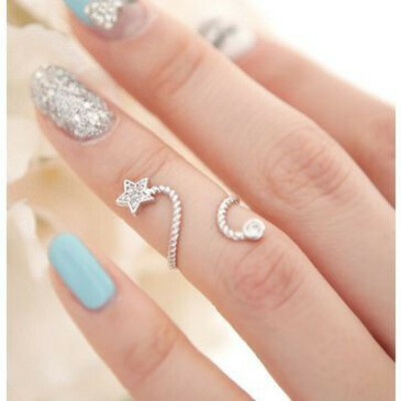 Кольцо на середину фоланги пальца