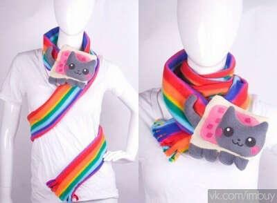 Шарфик Nyan cat