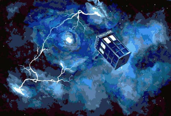 Картина по номерам Доктор Кто