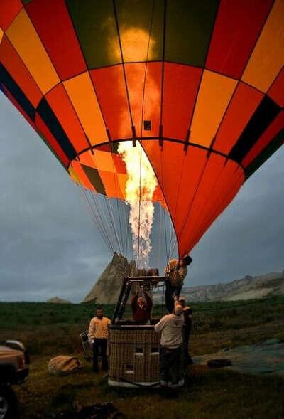 Прокатиться на воздушном шаре с кем-нибудь