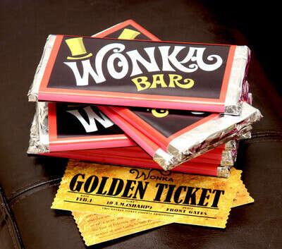 Хочу шоколадку Willy Wonka