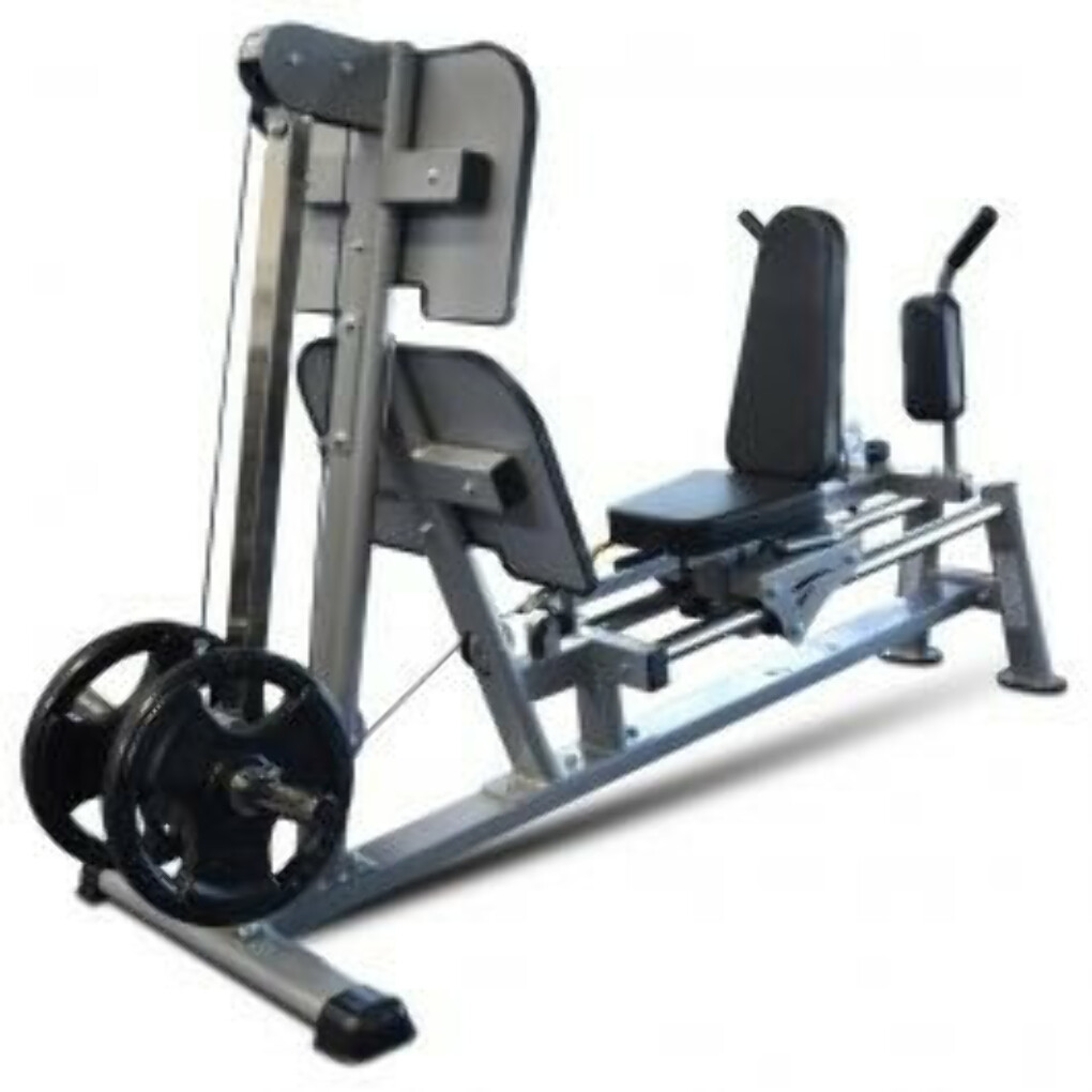 TUFF STUFF USA HORIZONTAL LEG PRESS / HACK SQUAT