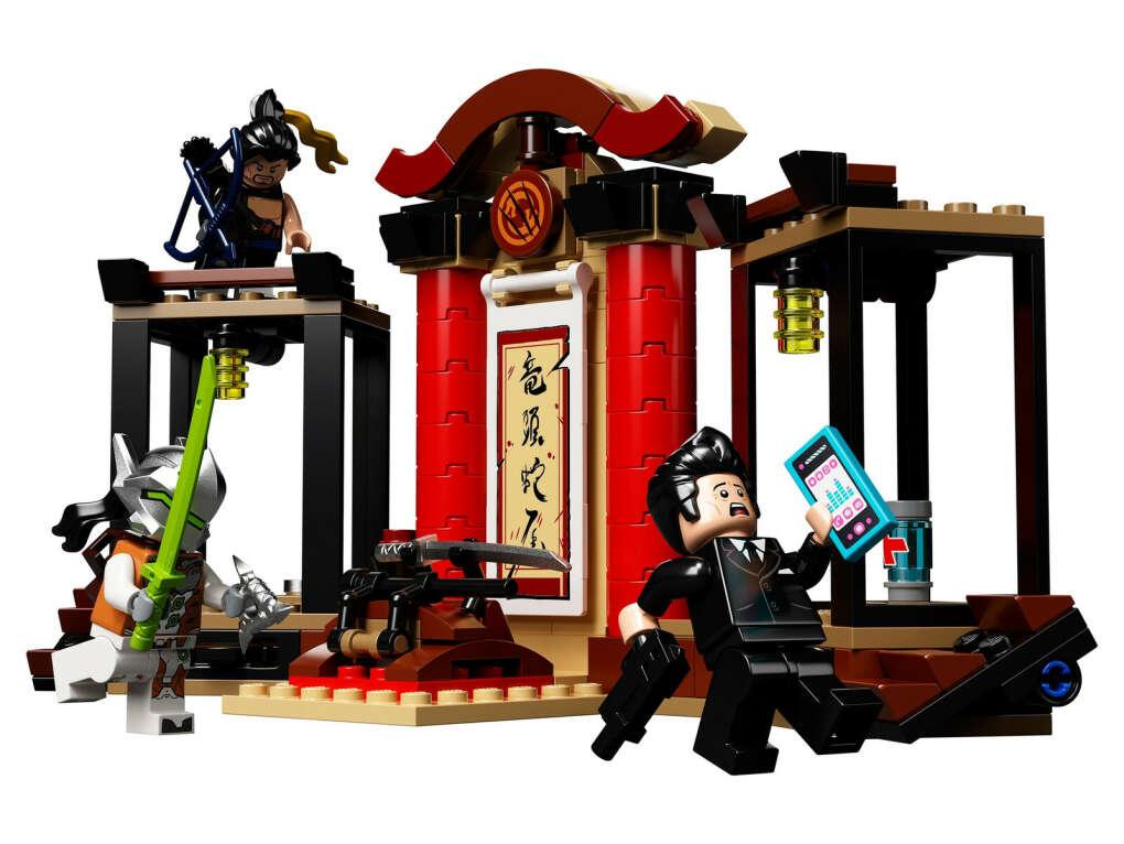 Lego Overwatch 75971 Хандзо против Гэндзи