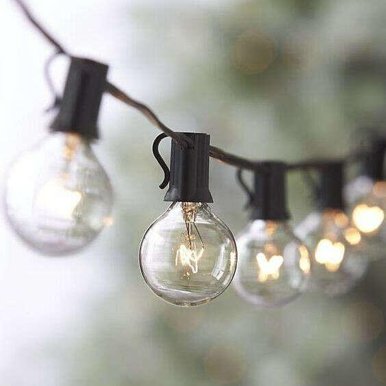 Гирлянда из ламп накаливания
