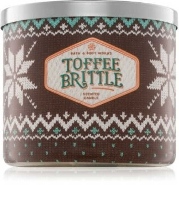 Bath & Body Works Toffee Brittlescented candle