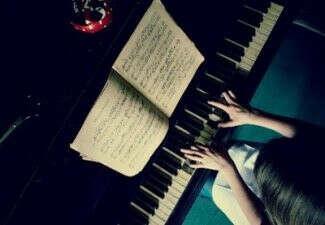игра на фортепиано