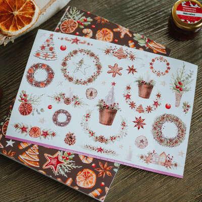 Стикеры Новый год в интернет-магазине Умкина берлога