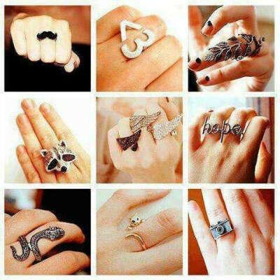 Милые кольца:)