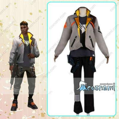 ヴァロラント フェニックス valorant Phoenix コスプレ衣装 ゲーム 戦闘服 コスチューム 送料無料